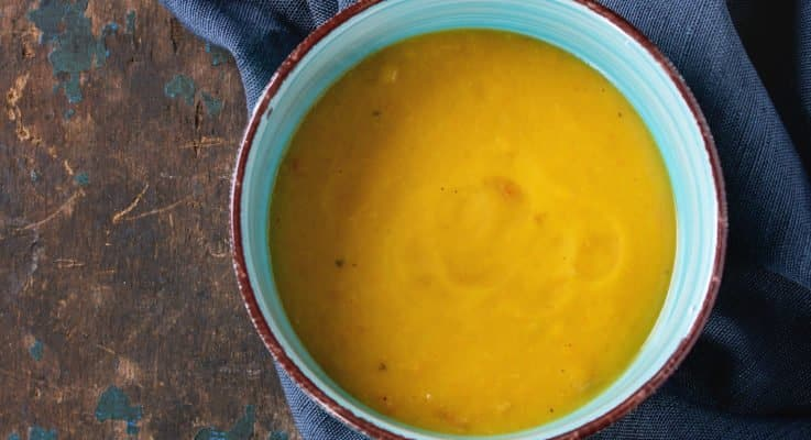 Curried Potato Soup