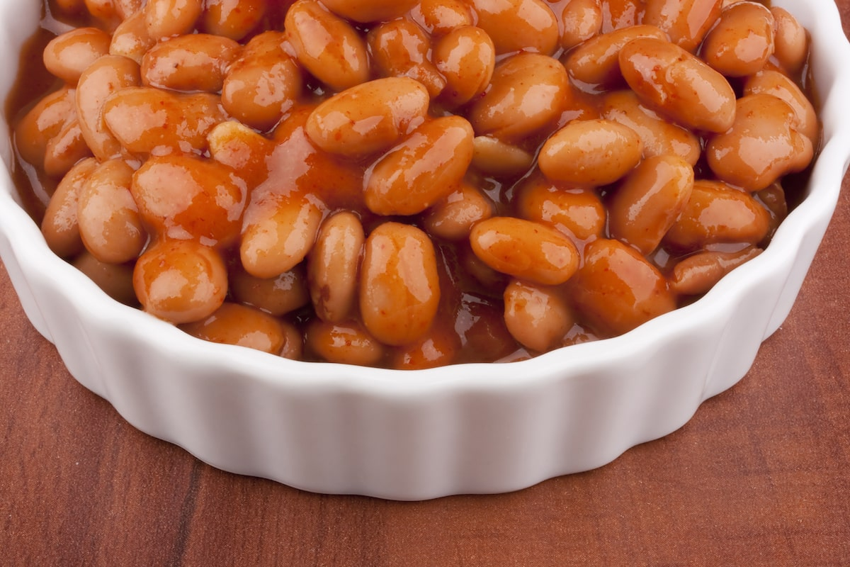 Spicy No-Sugar Baked Beans