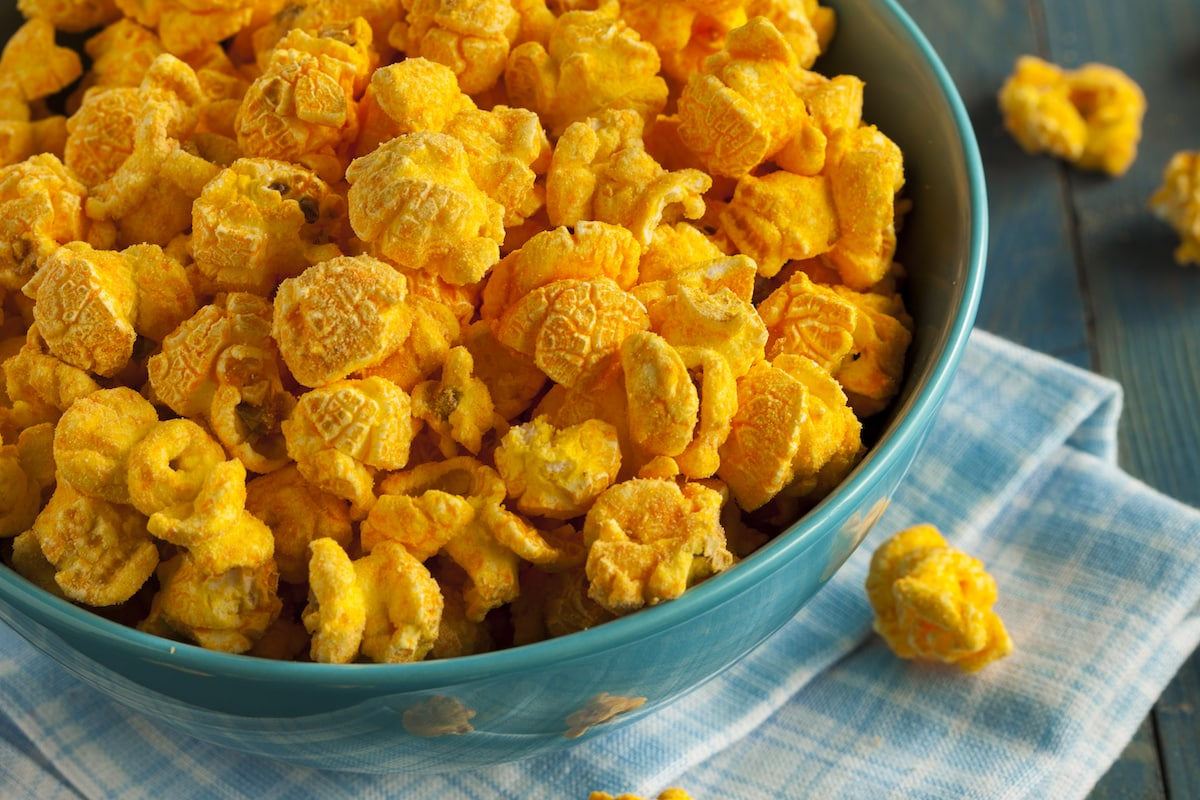 Jalapeño Cheddar Popcorn