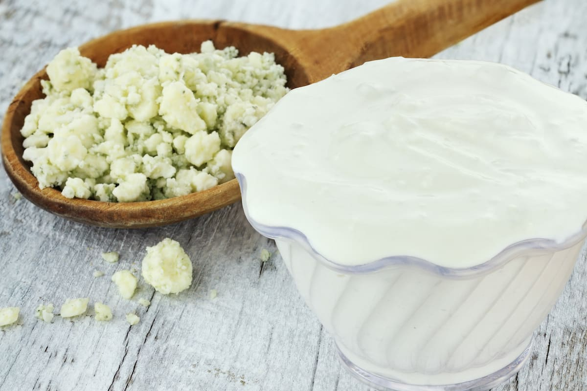 spicy blue cheese dressing
