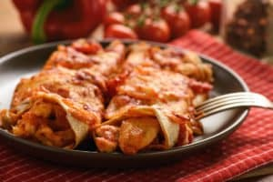 Spicy Red Enchilada Sauce