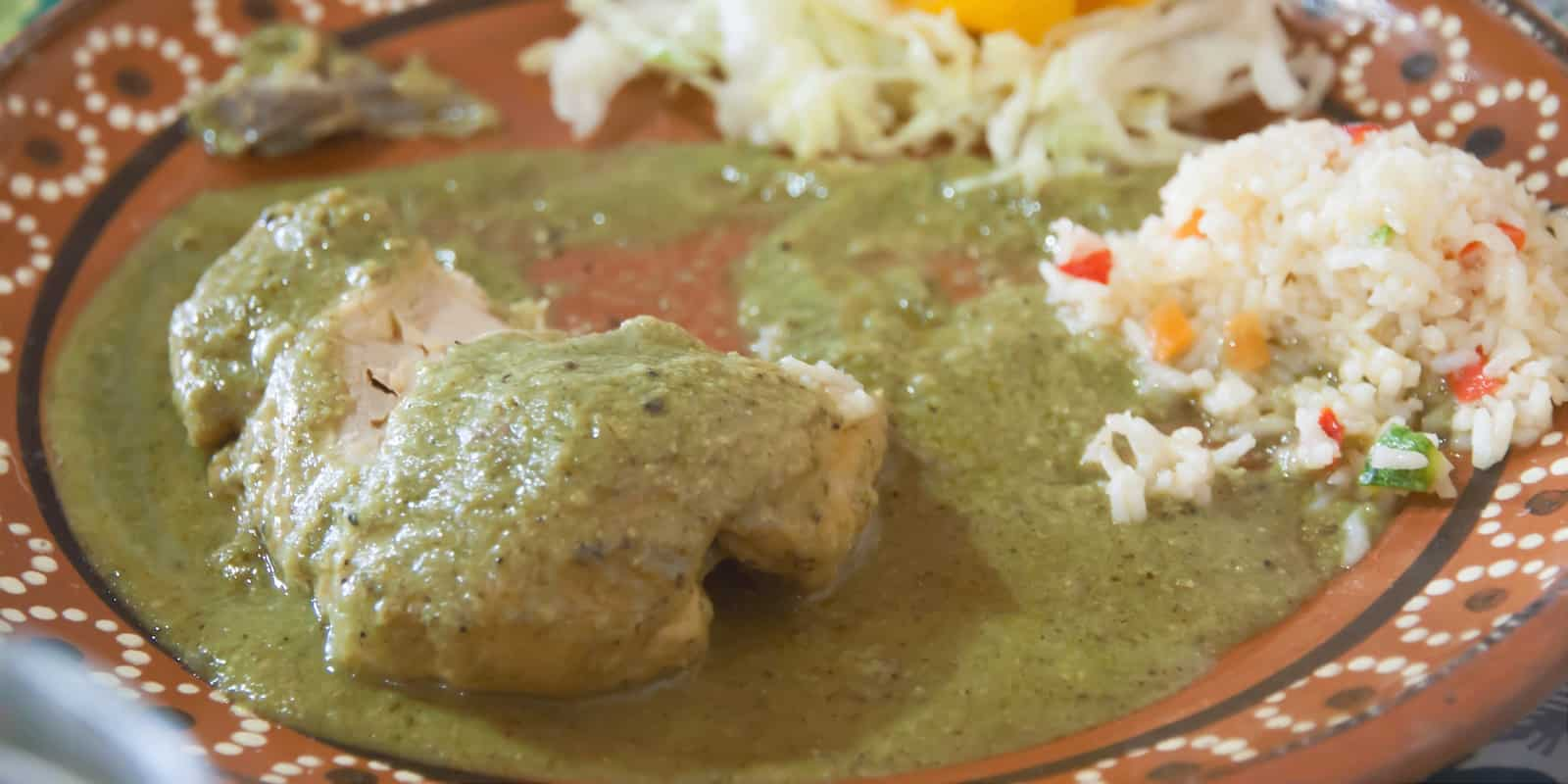 Fresh And Fiery Mole Verde