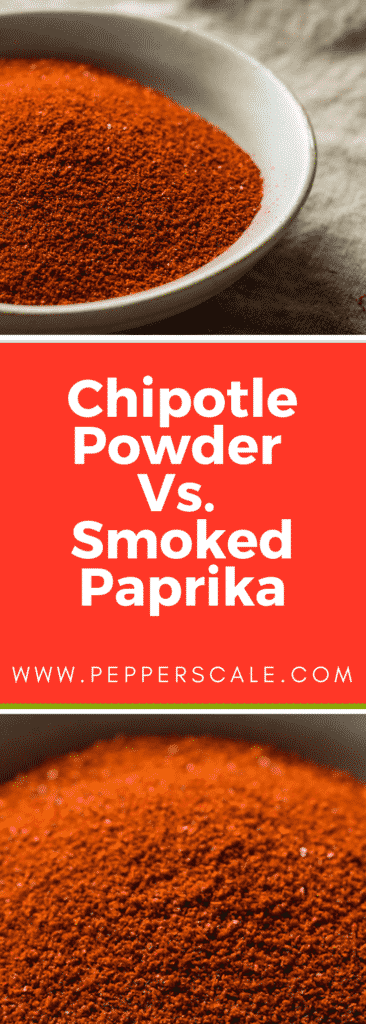 Chipotle Powder V' Smoked Paprika