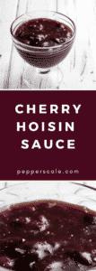 Cherry Hoisin Sauce