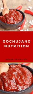 Gochujung Nutrition