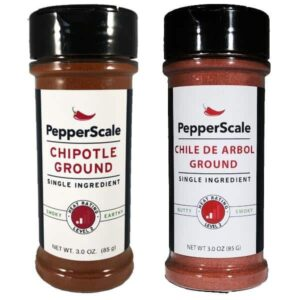 Smoke It Up Set - Chipotle And Chile De Arbol Powders