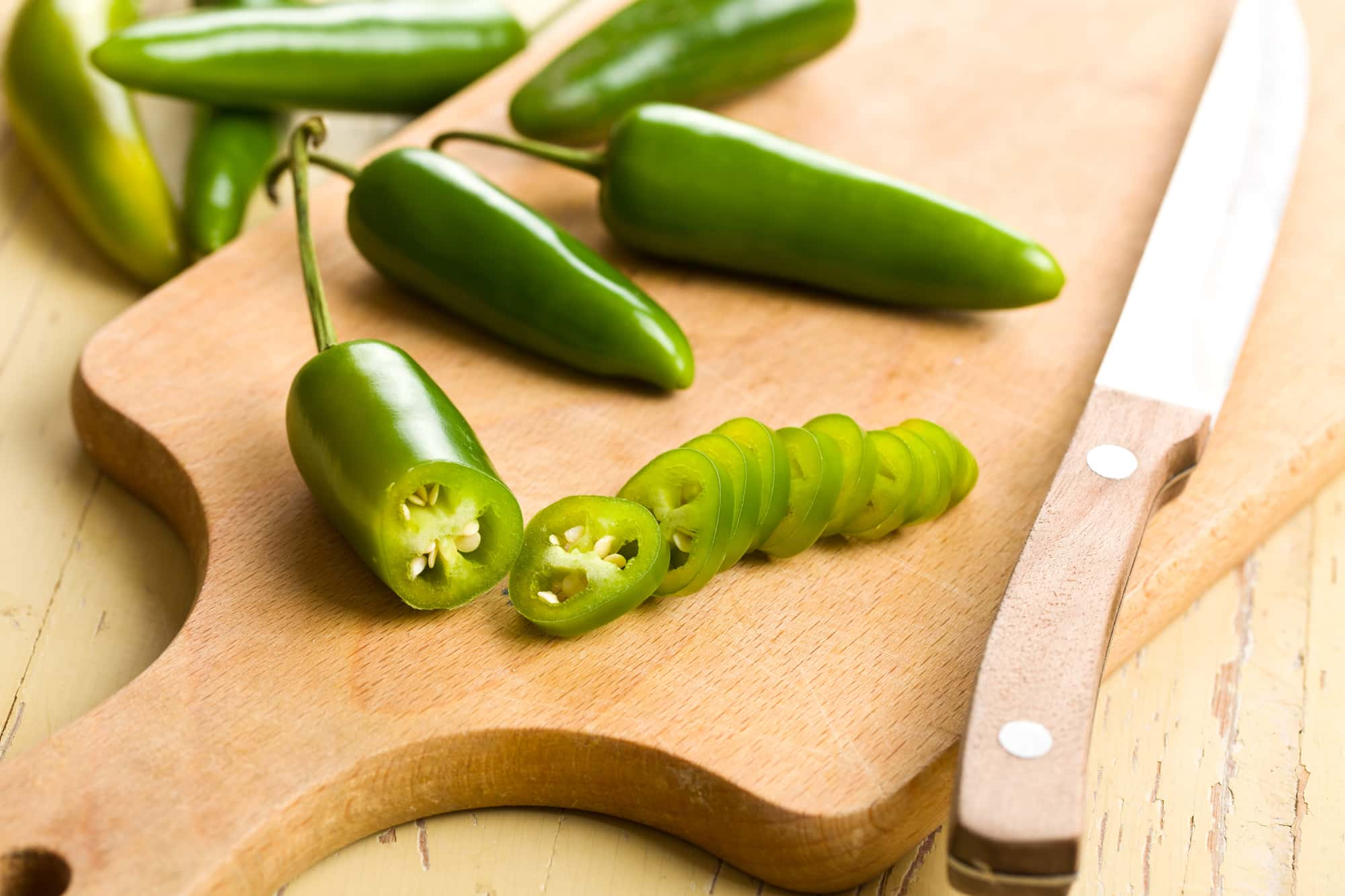 Cooking with jalapeño peppers