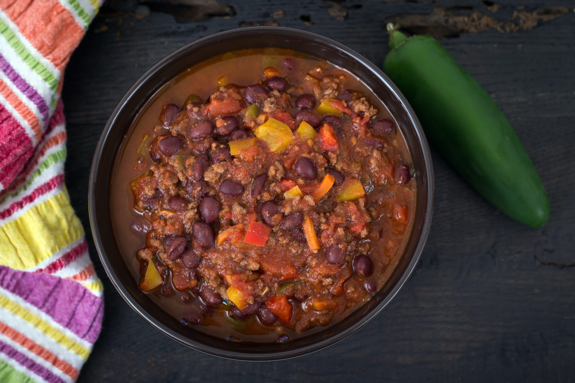 How long does chili last in the fridge