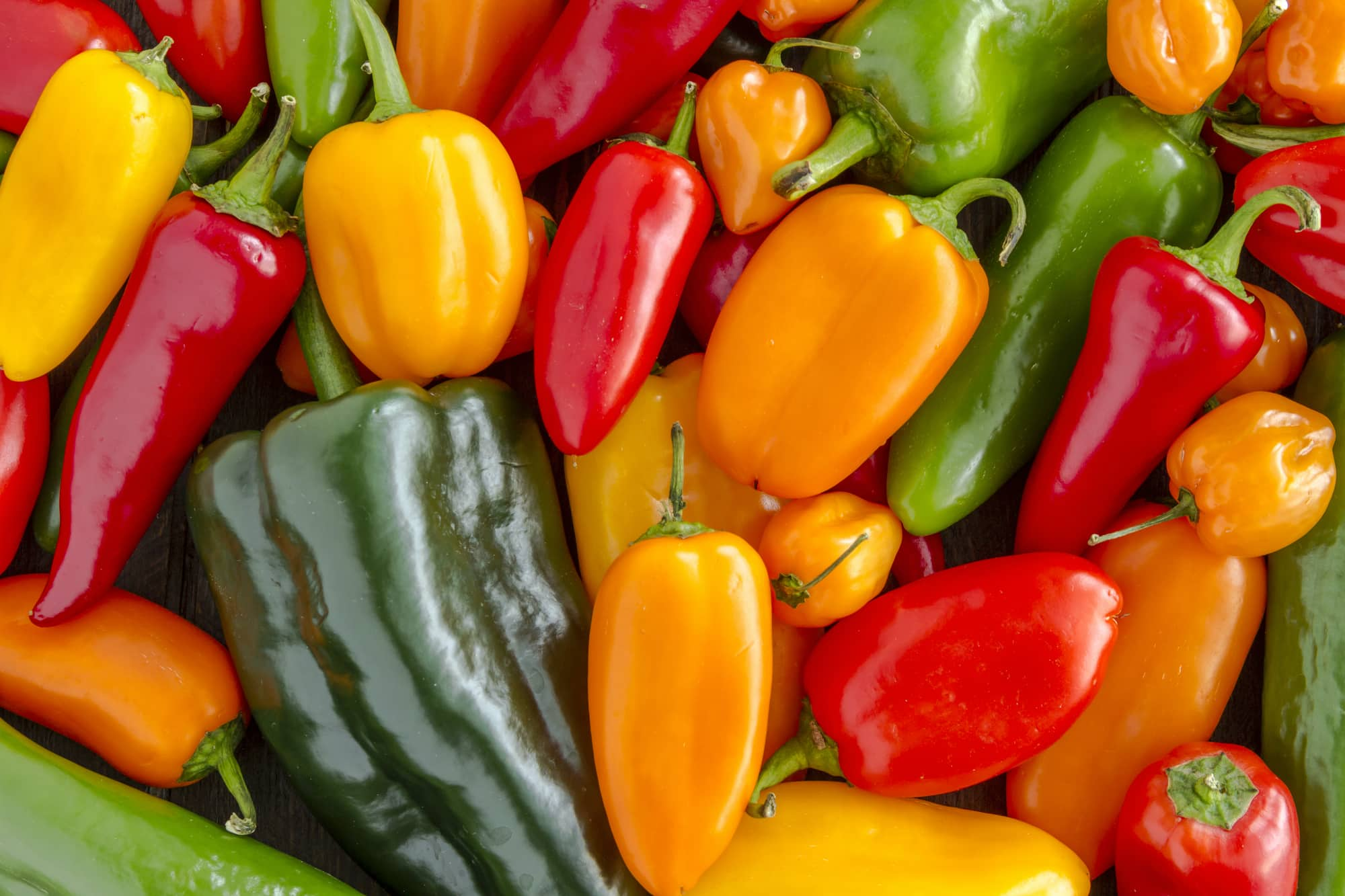 Protein in peppers