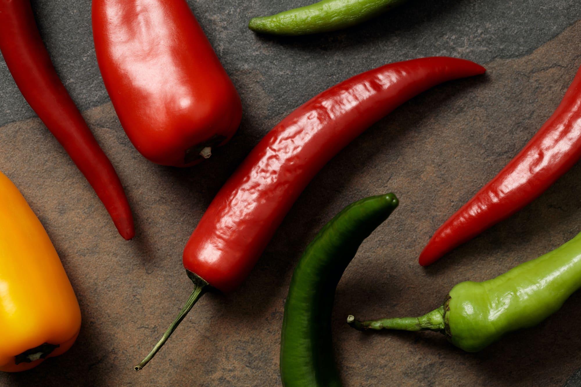 Vitamins in Peppers