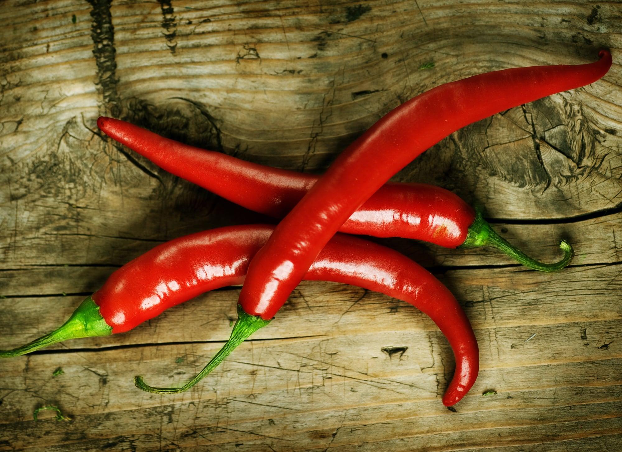 Sugar in peppers