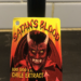 Satan's Blood Hot Sauce Label