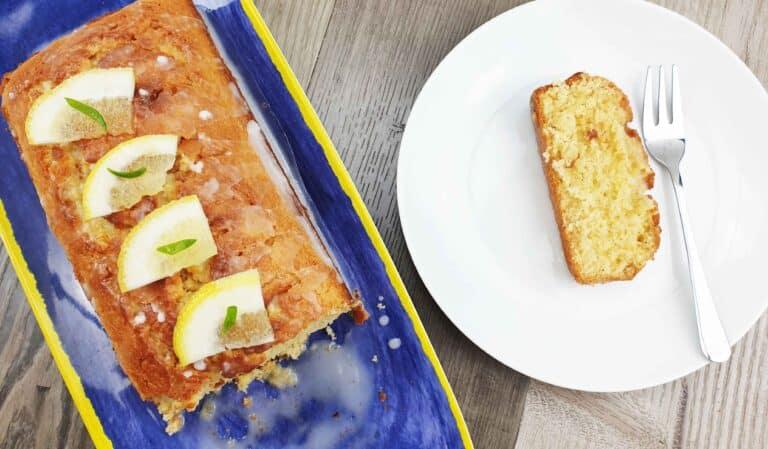 Jalapeno Lemon Drizzle Cake