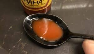 Slap Ya Mama Cajun Pepper Hot Sauce Close Up