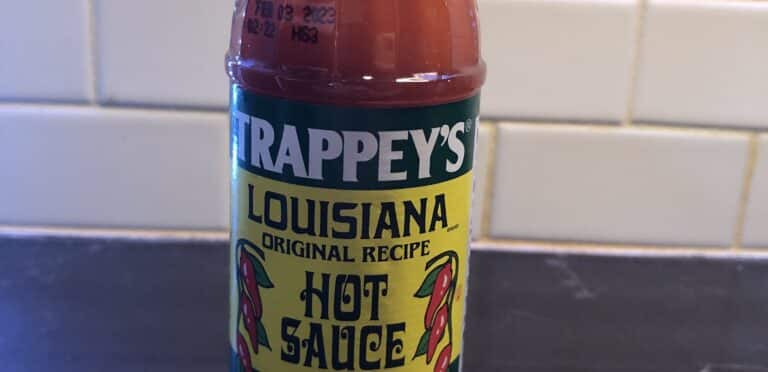 Trappey's Louisiana Hot Sauce Label