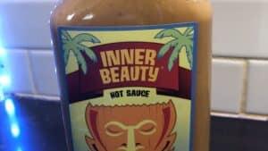 Inner Beauty Hot Sauce Label