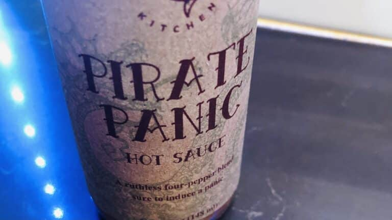 Devilfish Kitchen Pirate Panic Hot Sauce