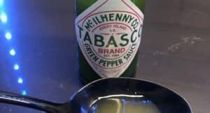 Tabasco Green Pepper Sauce Label