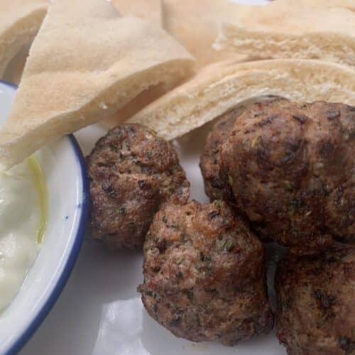 Lamb kofta meatballs