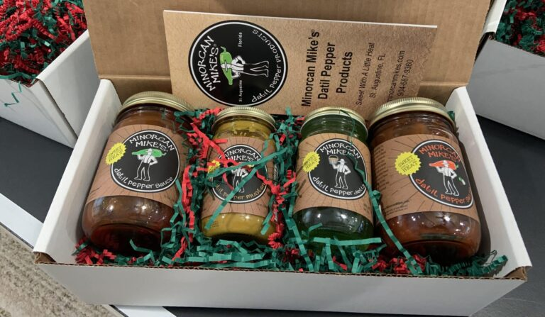 Minorcan Mikes Datil Pepper Sauce Pack