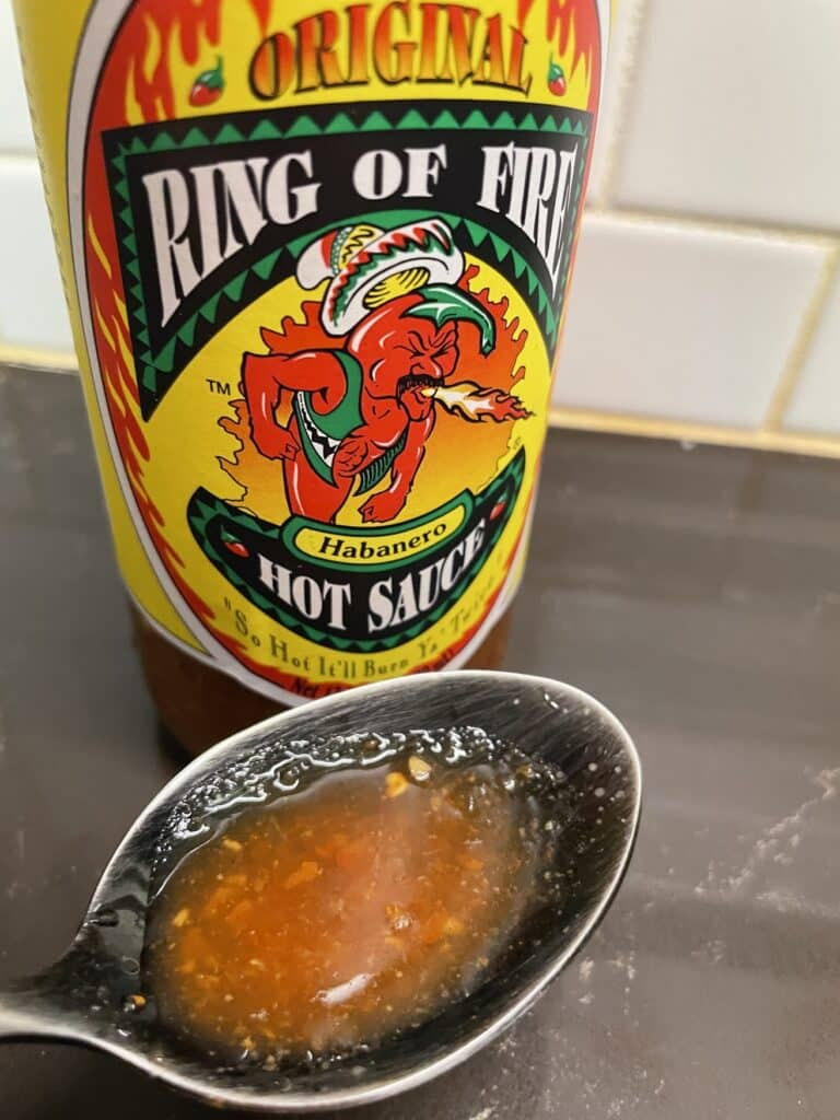 Ring of Fire Habanero Hot Sauce