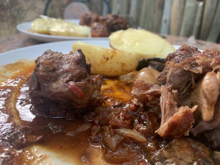 Spicy Oxtail Stew