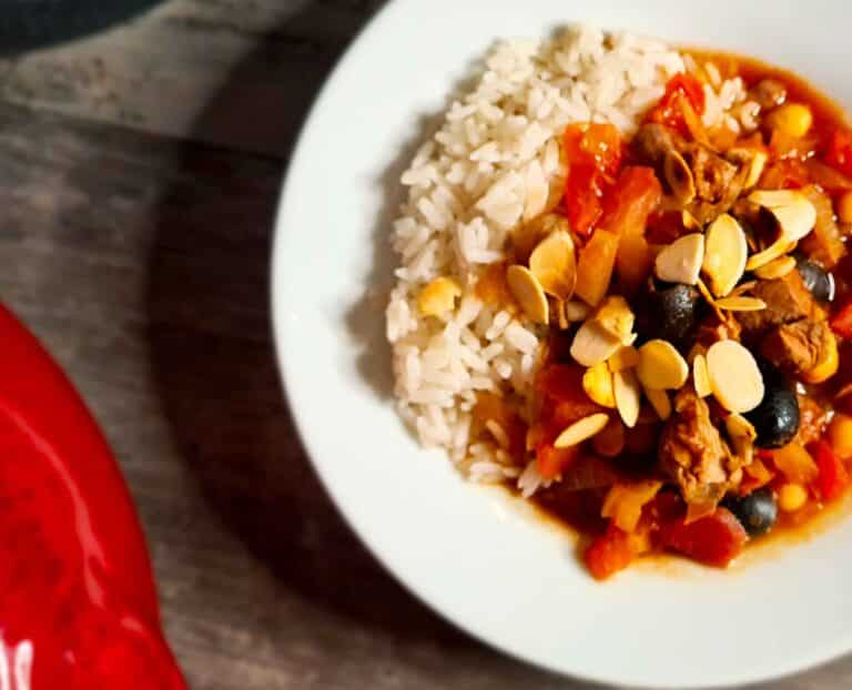 Spicy Moroccan Lamb Stew