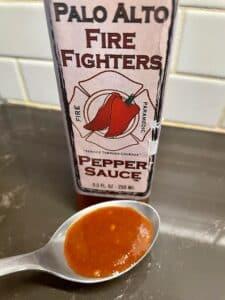 Palo Alto Firefighters Pepper Sauce