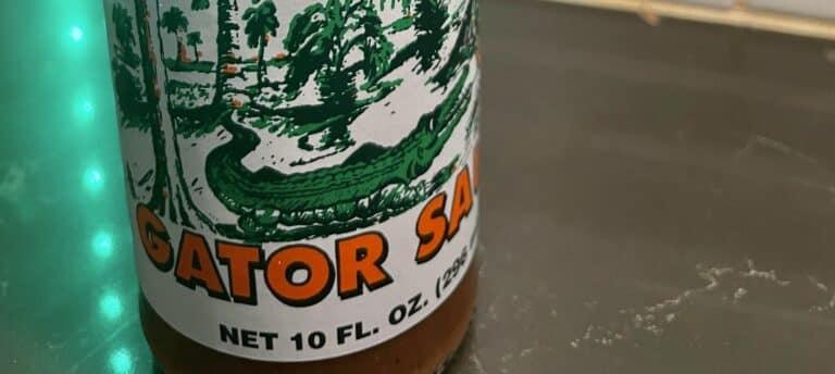 Gator Hammock Gator Sauce label