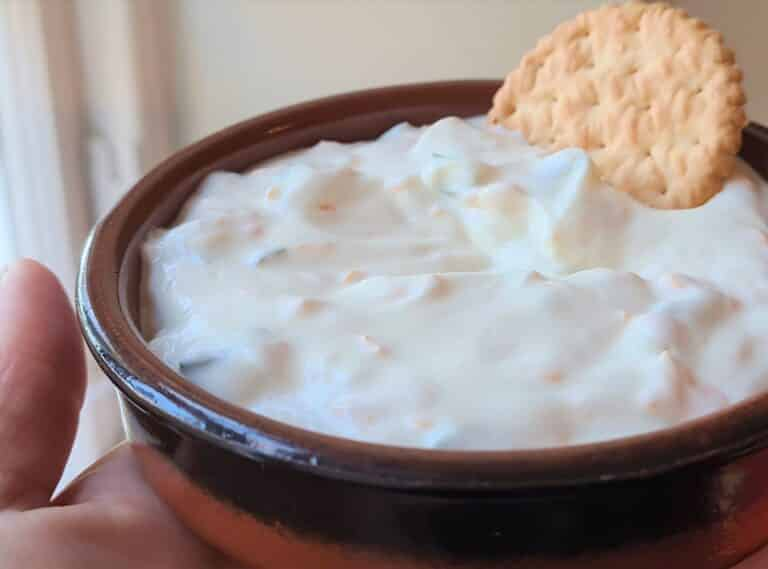 Jalapeno and cheese chip dip