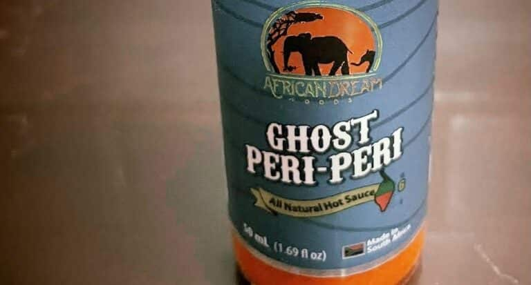 African Dream Foods Ghost Peri-Peri Sauce Label