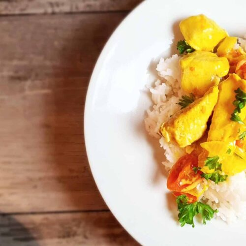 Brazilian Coconut Chicken Curry