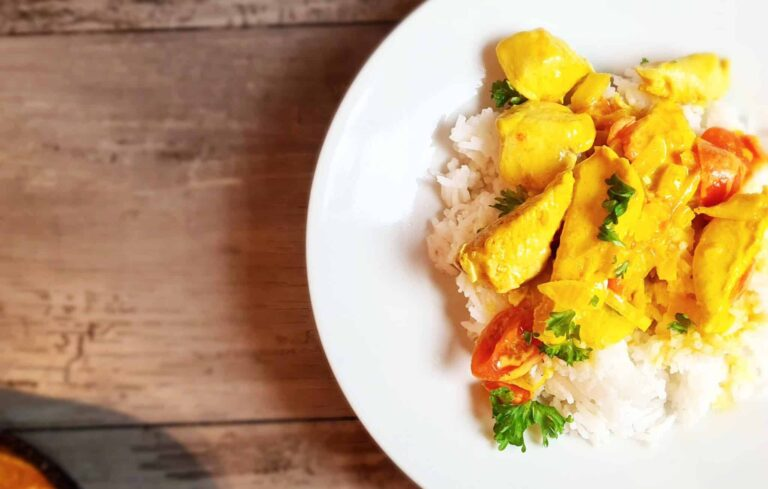 Brazilian Coconut Chicken Curry