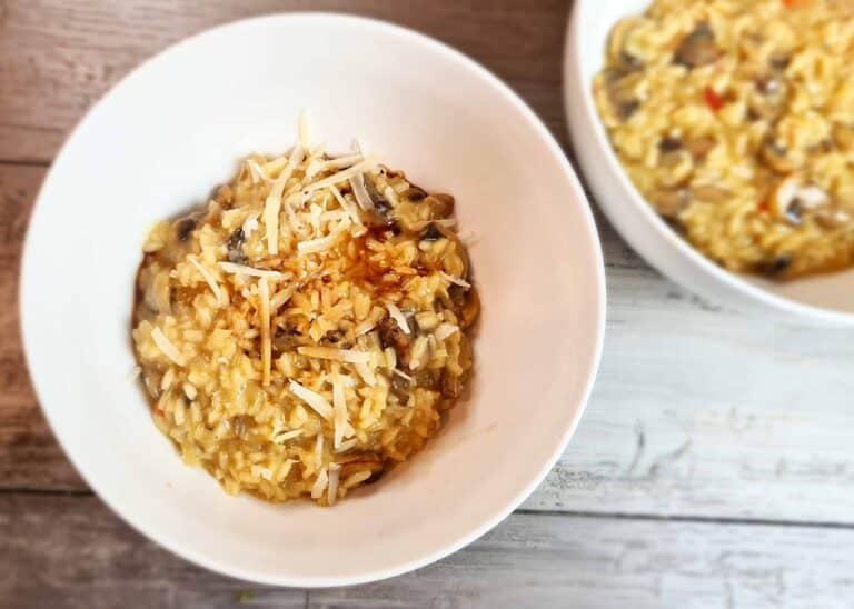 Spicy Mushroom Risotto