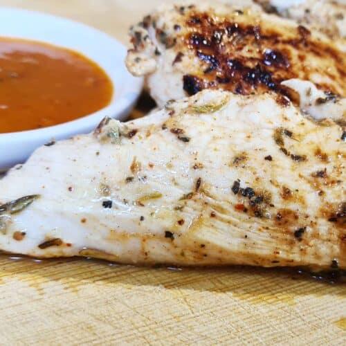 Spicy herb chicken strips