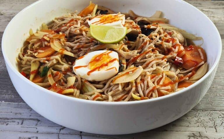 Extra-hot hellfire noodles