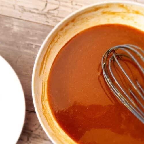 Spiced Salted Caramel Sauce