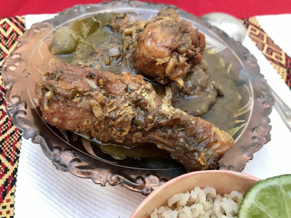 Andhra Chicken Curry — Spicy Kodi Kura Close-Up