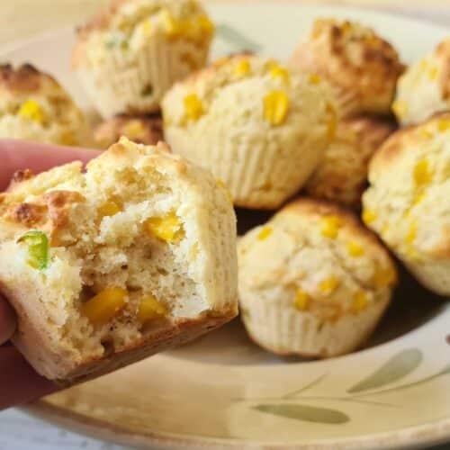 Easy Jalapeno Cornbread Muffins
