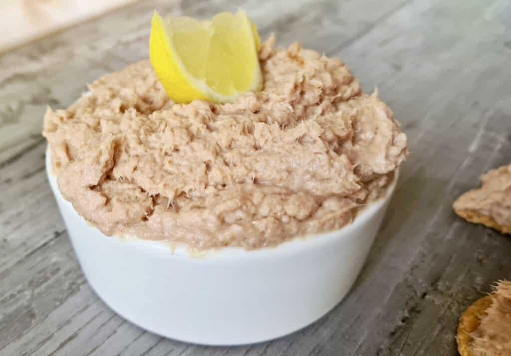 Spicy Tuna Pate in a bowl