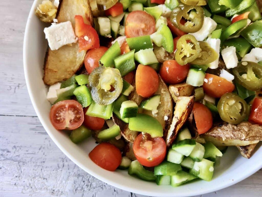 Piri-Piri Potato Wedge Platter