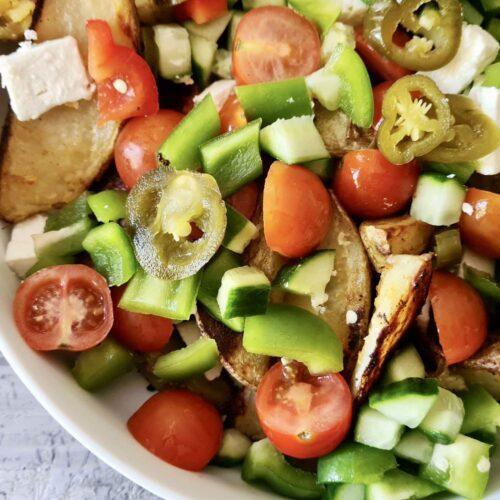 Piri Piri Potato Wedge Platter