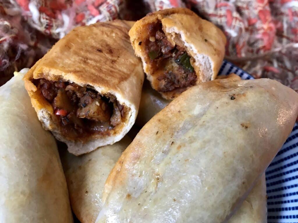 Spicy beef empanadas
