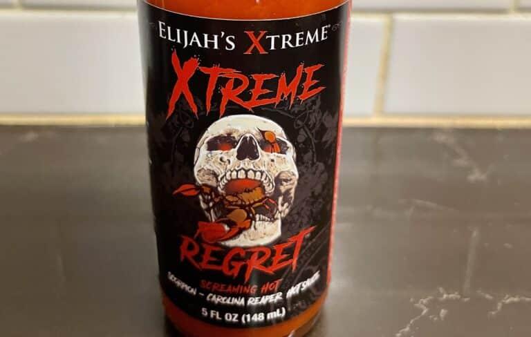 Elijah's XTreme Regret Hot Sauce