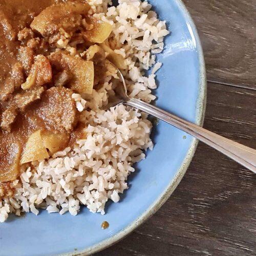 Naga Vindaloo Beef Curry