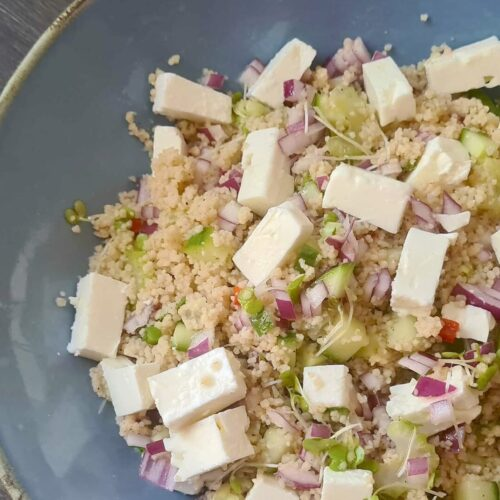 Spicy Greek Couscous Salad